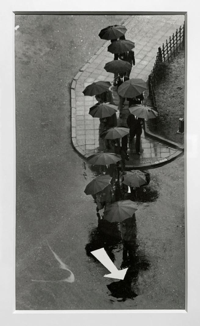 André Kertész (Hungarian, 1894-1985) 'Jour pluvieux, Tokyo' 'Rainy day, Tokyo' 1968 (installation view)