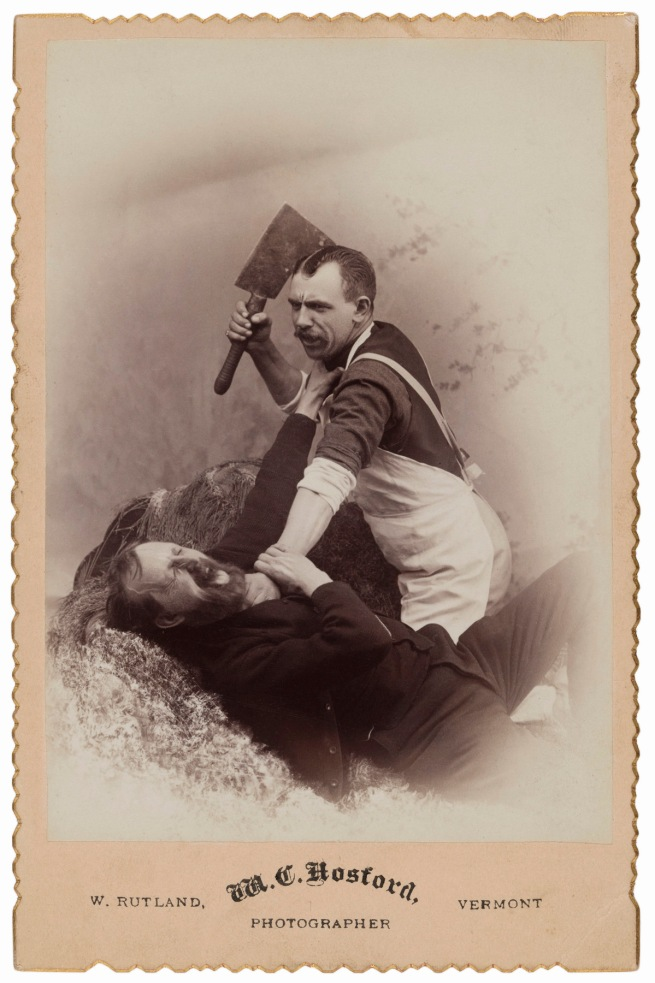M. C. Hosford, West Rutland, VT. '[Getting the cleaver]' 1880s
