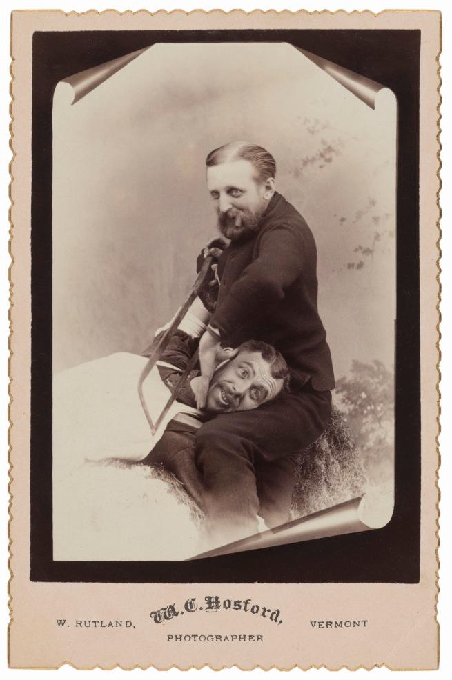M. C. Hosford, West Rutland, VT. '[Getting the saw]' 1880s