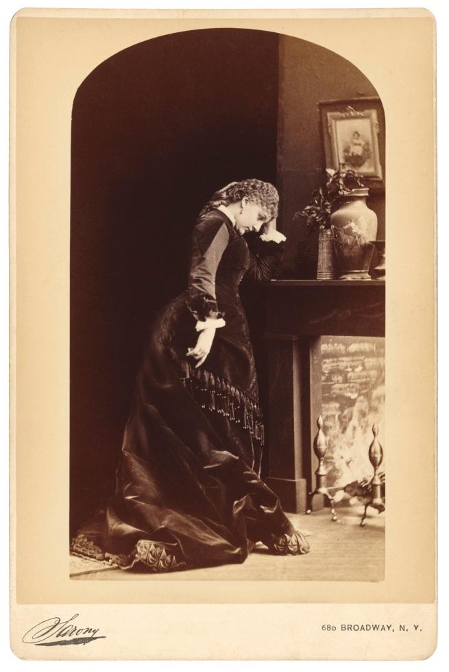 Napoleon Sarony, New York, NY. '[Fanny Davenport]' c. 1870