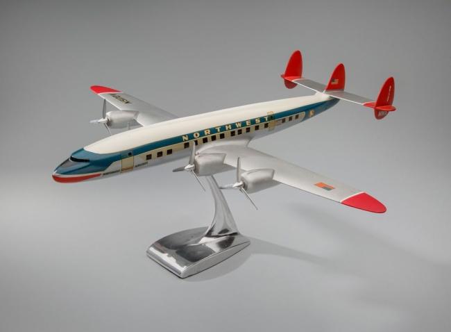 Modelbau Schaarschmidt, Berlin. 'Northwest Orient Airlines Lockheed L-1049 Super Constellation' 1950