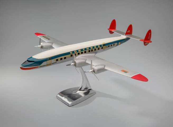 Modelbau Schaarschmidt, Berlin. 'Northwest Orient Airlines Lockheed L-1049 Super Constellation' 1950