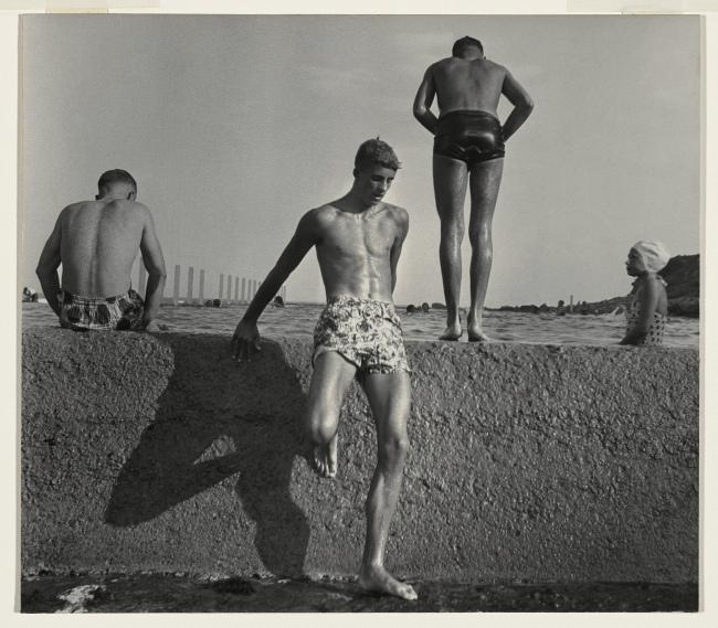 Max Dupain. 'At Newport Baths' 1952