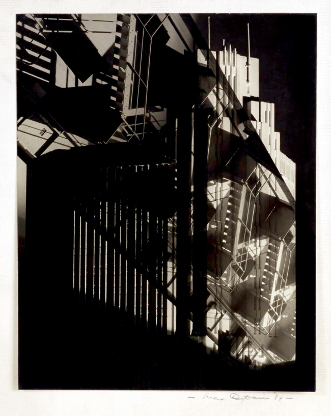 Max Dupain. '(Fire Stairs at Bond Street)' 1934