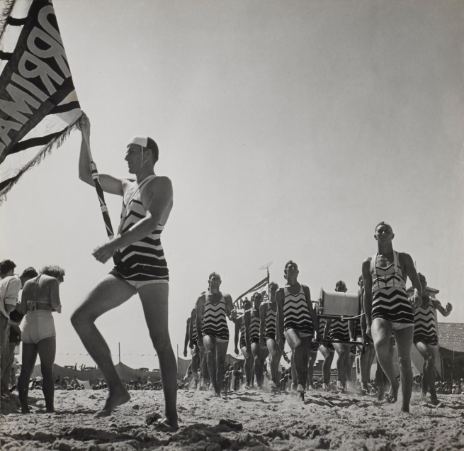 Max Dupain. '(Life Guards with Flag and Reel March)' Nd