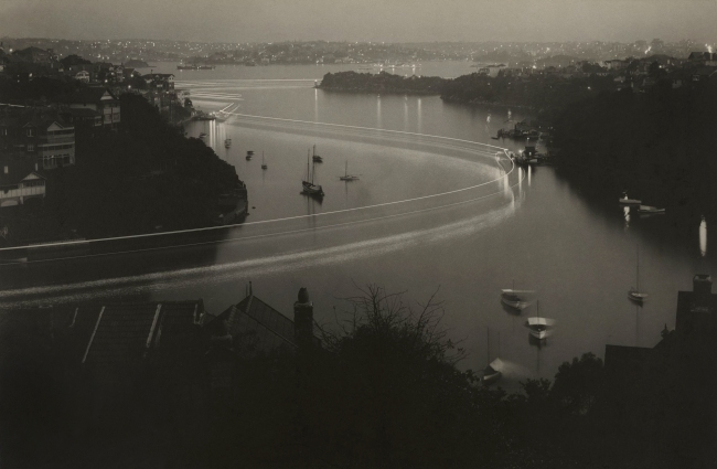 Max Dupain. 'Mosman Bay at dusk' 1937