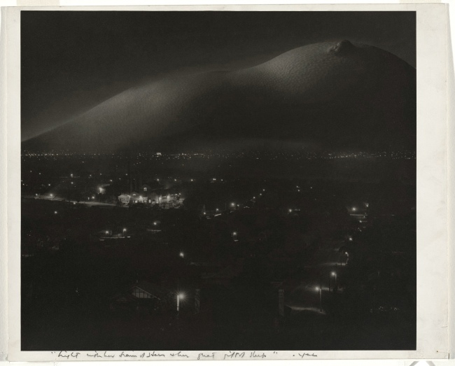 Max Dupain. 'Night with her train of stars and her gift of sleep' 1936-37