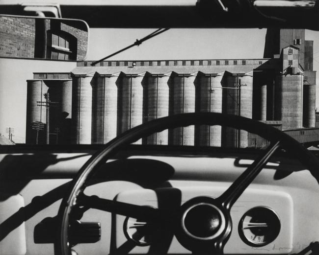 Max Dupain. 'Silos through windscreen' 1935