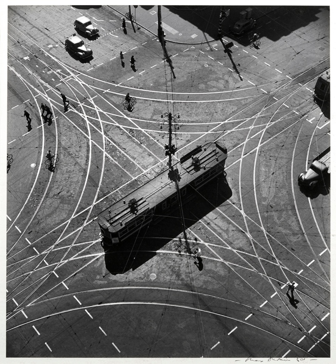 Max Dupain. 'Tram Abstraction' 1930