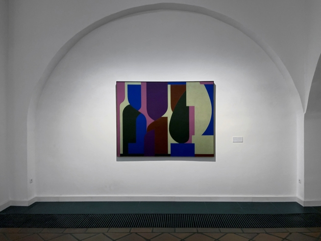 Installation view of the Vasarely Museum, Budapest