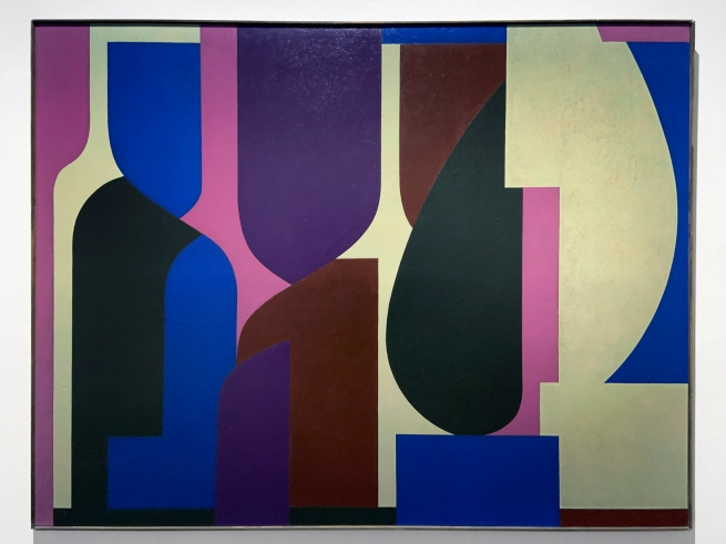 "Victor Vasarely (Hungarian-French, 1906-1997) 'Amir (""Rima"")' 1953 (installation view)"