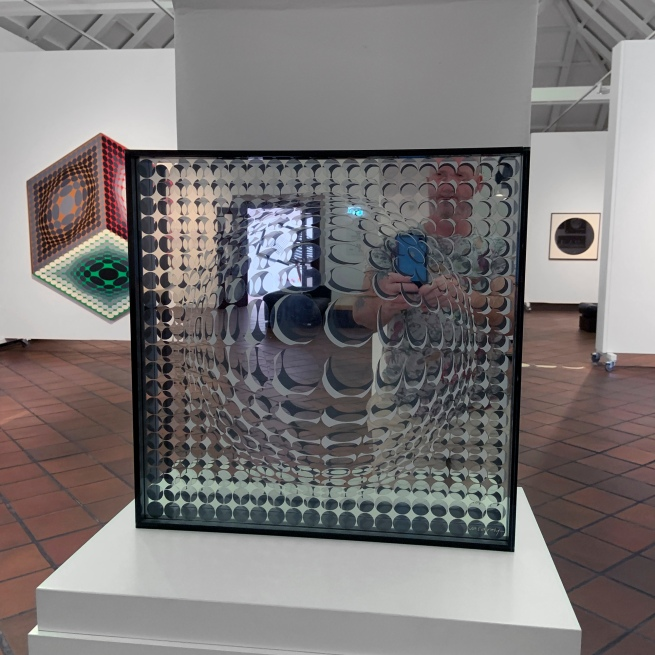 Victor Vasarely (Hungarian-French, 1906-1997) 'Vega Mir' 1954/1960 (installation view)