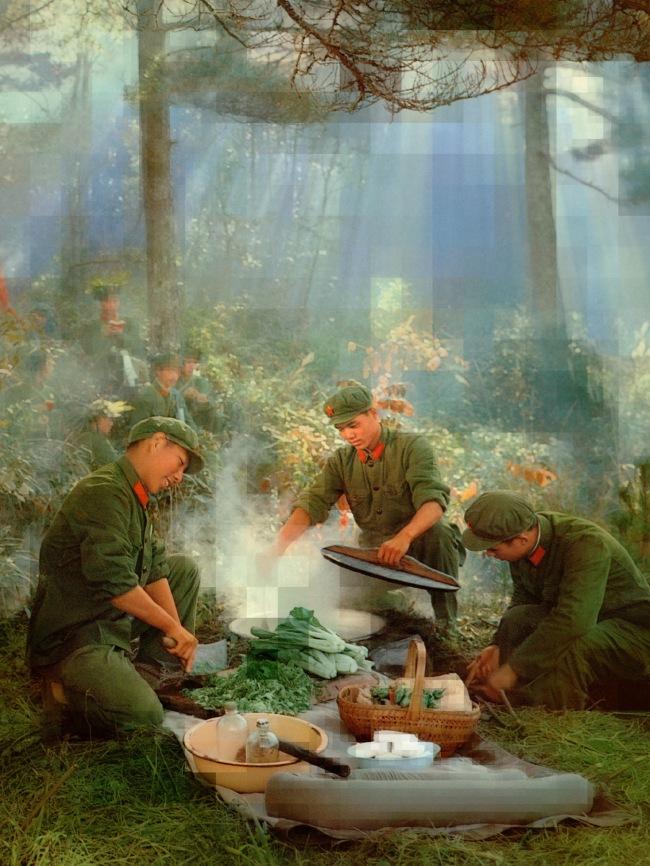 Thomas Ruff (German, b. 1958) 'tableau chinois_01' 2019