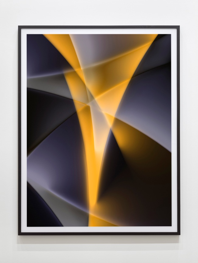 Thomas Ruff. Installation view K20, Kunstsammlung Nordrhein-Westfalen From series: 'photograms'