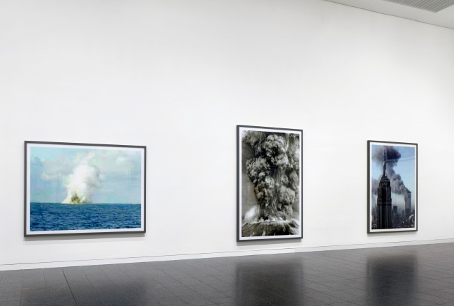 Thomas Ruff (German, b. 1958) Installation view K20, Kunstsammlung Nordrhein-Westfalen. From series: 'jpeg'