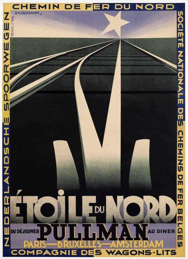 A. M. Cassandre (1901-1968) 'Etoile du Nord' (North Star) 1927