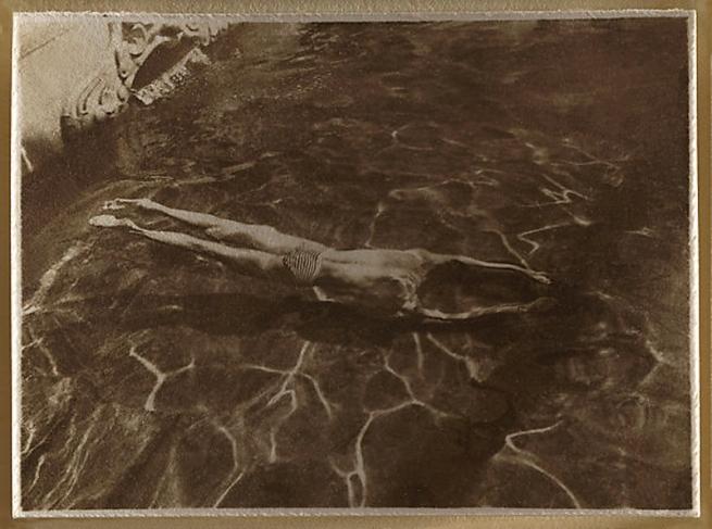André Kertész (Hungarian, 1894-1985) 'Underwater Swimmer, Esztergom, Hungary' 1917