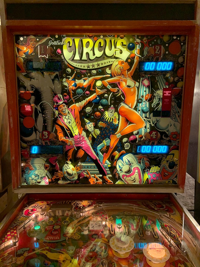 D. Gottlieb & Company(1977-1983) 'Circus' 1980 (detail)