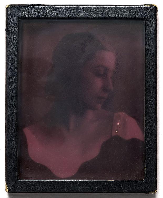 Joseph Cornell (American, 1903-1972) 'Tamara Toumanova (Daguerreotype-Object)' October 1941