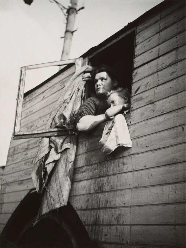Dora Maar (French, 1907-1997) '[Woman and Child in Window, Barcelona]' 1932-34