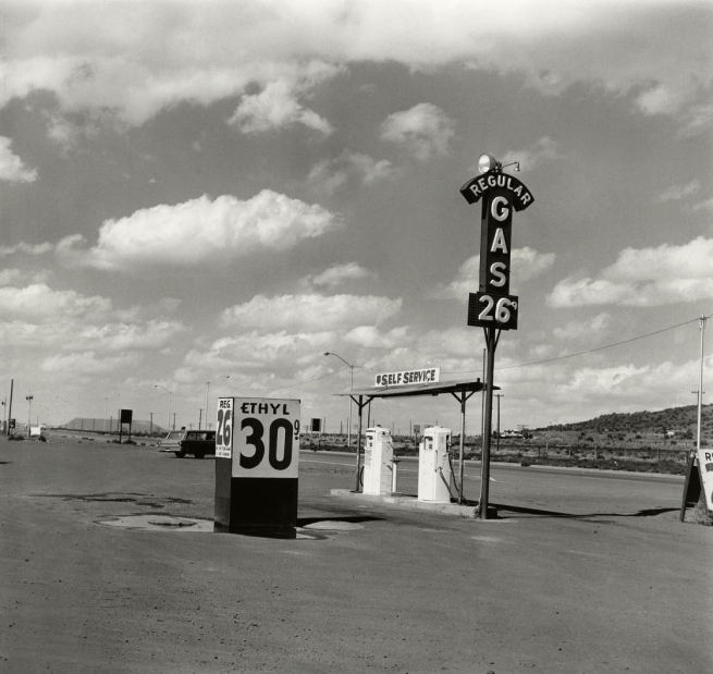 Edward Ruscha (American, b. 1937) 'Self-Service – Milan, New Mexico' 1962