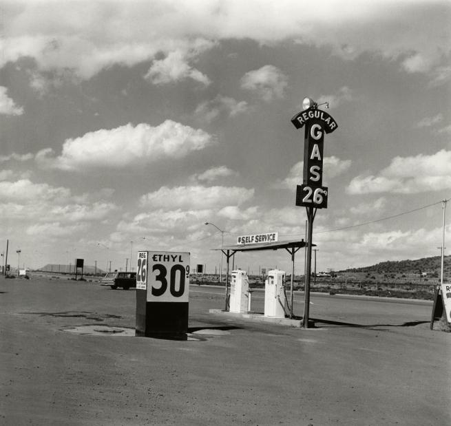 Edward Ruscha (American, b. 1937) 'Self-Service – Milan, New Mexico' 1962