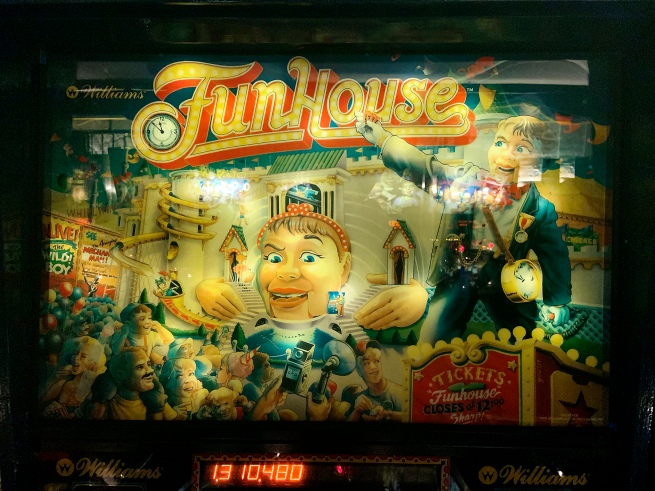 Williams Electronic Games (1985-1999) 'FunHouse' 1990 (detail)