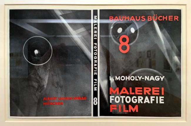 László Moholy-Nagy (Hungarian, 1895-1946) 'Bauhausbücher 8, L. Moholy-Nagy: Malerei, Fotografie, Film' 1925