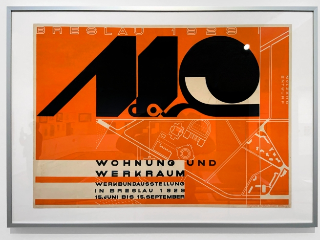 Johannes Molzahn (1892-1965) Wohung und Werkraum, Werkbundausstellung in Breslau (Apartment and workshop, Werkbund exhibition in Breslau) 1929 (installation view)
