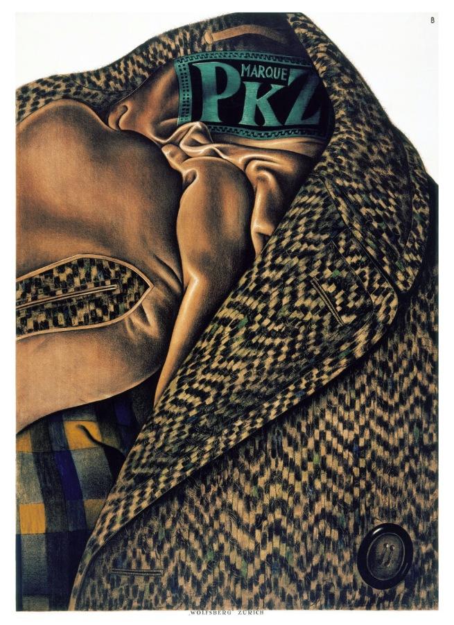Otto Baumberger (1889-1961) 'Marque PKZ' 1923