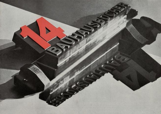 László Moholy-Nagy (Hungarian, 1895-1946) '14 Bauhausbücher' 1928