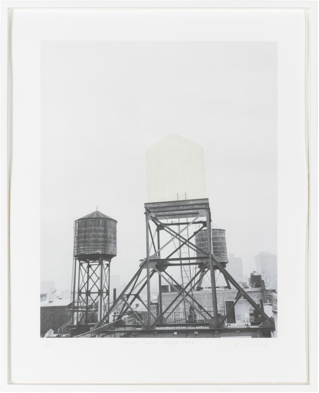 Rachel Whiteread (English, b. 1963) 'Watertower Project' 1998