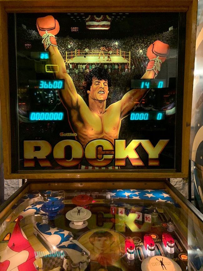 D. Gottlieb & Company. 'Rocky' 1982 (detail)