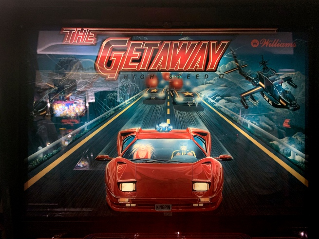 Williams Electronic Games (1985-1999) 'The Getaway: High Speed II' 1992 (detail)