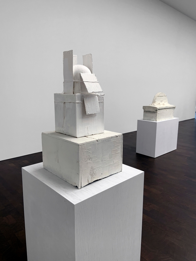 Cy Twombly (American, 1928-2011) 'Untitled (To Apollinaire)' 2009 (installation view)