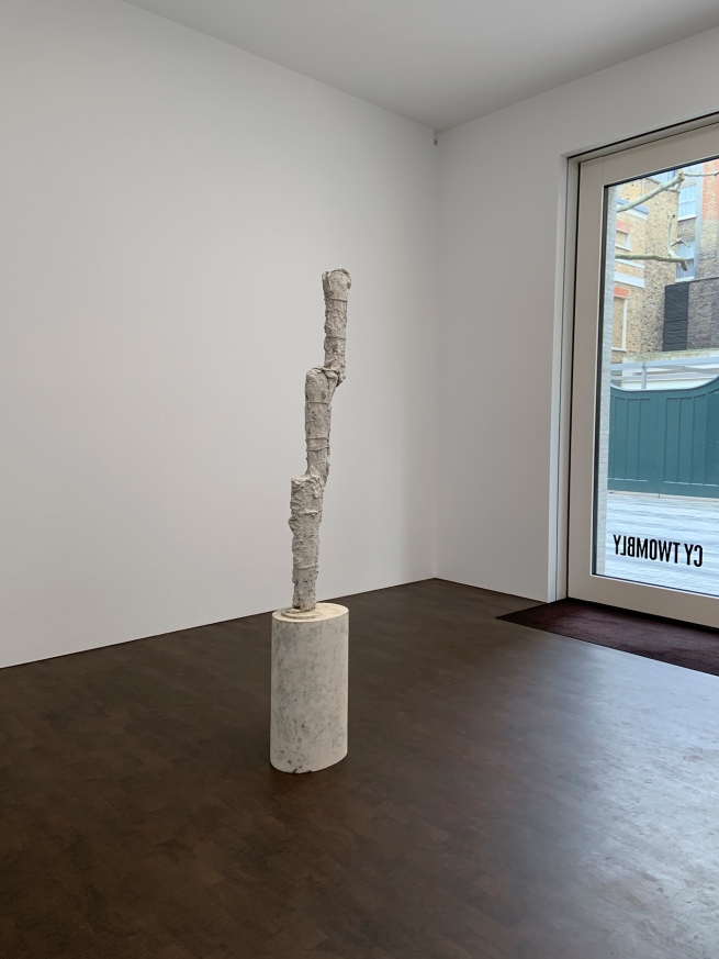 Cy Twombly (American, 1928-2011) 'Untitled' 2009 (installation view)