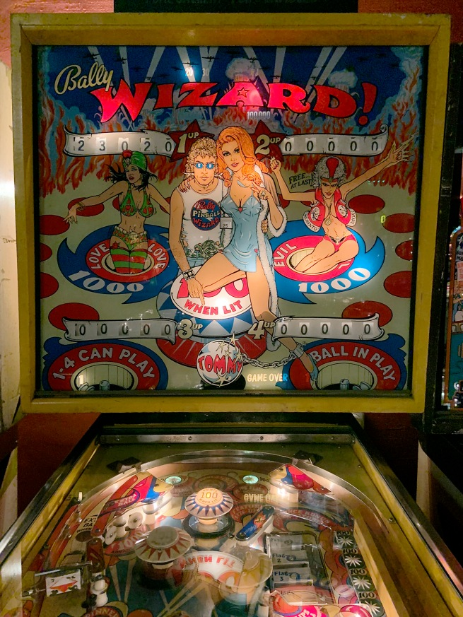 Bally Manufacturing Corporation (1931-1983) 'Wizard!' 1975 (detail)