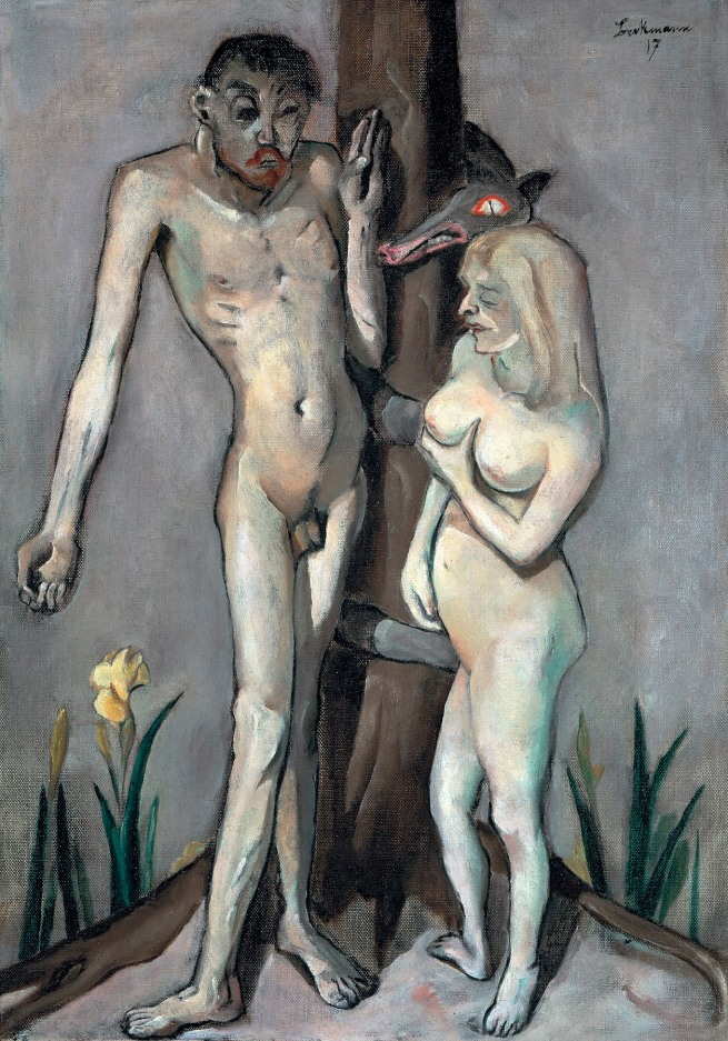 Max Beckmann (German, 1884-1950) 'Adam and Eve' 1917