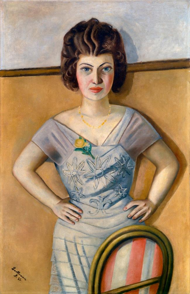 Max Beckmann. 'Portrait of a Romanian (Portrait of Dr. Heidel)' 1922