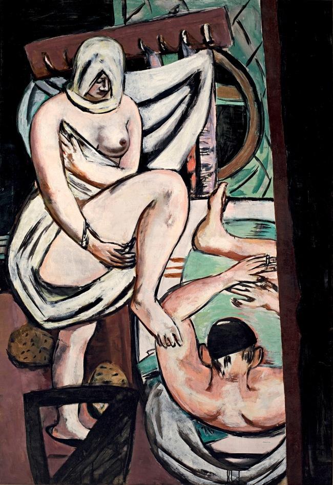 Max Beckmann (German, 1884-1950) 'Das Bad' (The bathroom) 1930