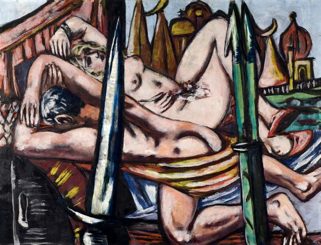 Max Beckmann (German, 1884-1950) 'Messingstadt' 1944