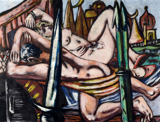 Max Beckmann (German, 1884-1950) 'Messingstadt' 1944