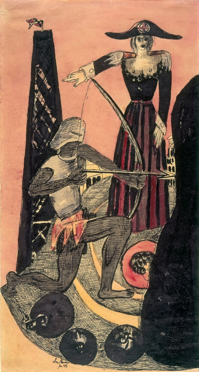 Max Beckmann (German, 1884-1950) 'Venus – Mars' 1945
