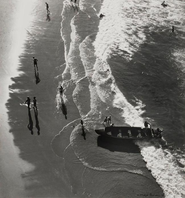 Max Dupain (Aerial of Waters Edge) 1930s