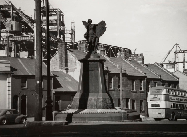 Max Dupain (Angel Statue, 392 Bus and Terraces) Nd