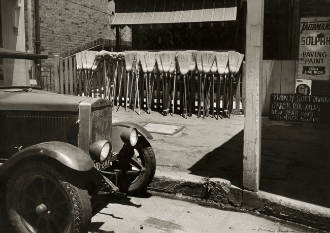 Max Dupain. 'Brooms for Sale' 1950