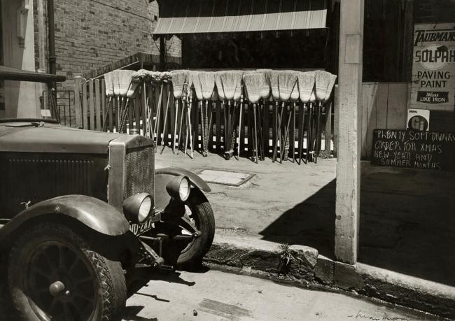 Max Dupain. 'Brooms for Sale' 1950