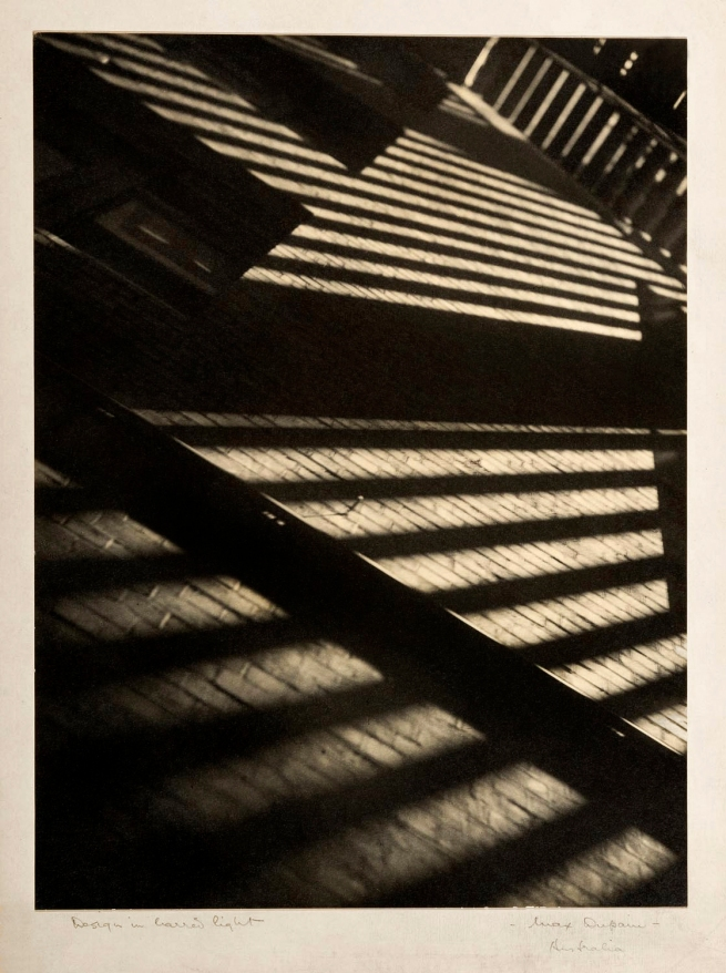 Max Dupain. 'Design in Barred Light' Nd