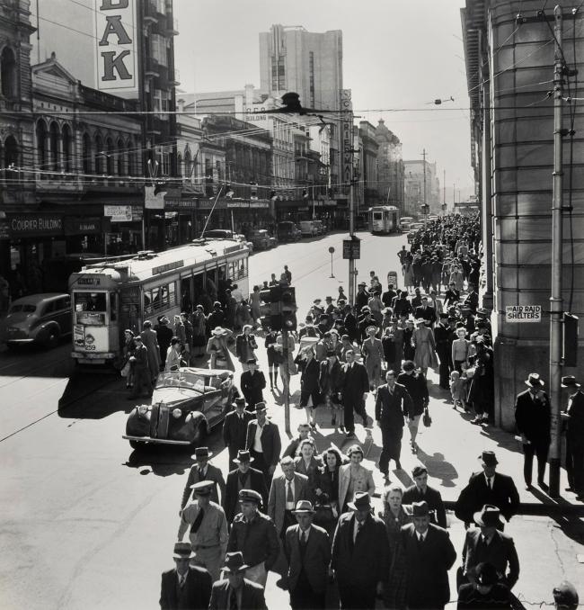Max Dupain (Elizabeth Street, Melbourne) Nd