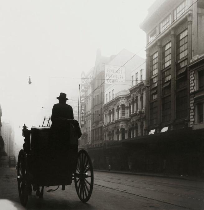 Max Dupain. 'George Street Silhouette' 1940